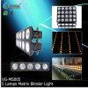 Audiência de Pixel Cardan Multi-Functions Vangaa fase matriz Luz Blinder 5 Chefes Lâmpadas (VG-MS005)