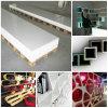 150 sortes Couleurs de gros Matériaux de comptoir Pierre acrylique