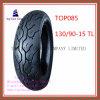 Qualität, schlauchloser Motorrad-Reifen des Nylon-6pr mit 130/90-15tl