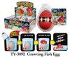 Lustiges wachsendes Fischei-Spielzeug