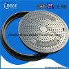 C250 En124 SMCは700mmの腐敗性タンクマンホールカバーを四捨五入する