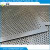 Placa galvanizada Folha de metal perfurada / malha