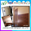 Panneaux de mur stratifiés par 250*8mm en bois légers de PVC de couleur