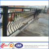 Trilhos revestidos do balcão do ferro feito do pó interno contínuo decorativo da segurança