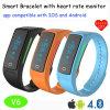 Bluetooth 4.0 (V6)の新しい心拍数のスマートなブレスレット