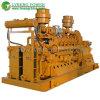 Ce de agua aprobado refrigerado de 500 kW Generador de biogás con Auto Start