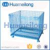 Cages se pliantes de mémoire en métal avec des roues