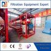 Filtre-presse automatique de chambre de traitement de cambouis de Dazhang