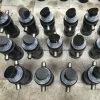Pequeño cilindro hidráulico telescópico para el carro de vaciado