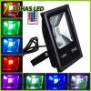 Покрасьте изменяя свет белых водоустойчивый IP65 10W-500W СИД СИД прожектора заливающего освещения холодный/красных/сини/Green/RGB напольный СИД потока