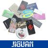 Etiquetas de papel impresas de encargo de la caída de la escritura de la etiqueta de la ropa para la ropa