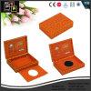 Collar de cuero rojo personalizados de lujo en caja (5530R2)