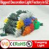 Indicatore luminoso approvato della stringa dell'UL C7/C9 LED del mercato americano per la decorazione
