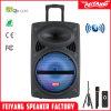 Karaoke móvel profissional 6827-16 6814-16 da caixa sadia do altofalante portátil sem fio grande da polegada do USB PRO15 do móbil dos multimédios de Bluetooth da bateria recarregável da potência