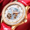 AUTOMATIC Mechanical Watch for Women with 5ATM Water Resistance and Luminous Function, Loreo fire