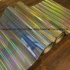 Los colores de láser de lámina de oro de la lámina de estampado en caliente para el papel de plástico