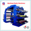 6 L'étiquette en plastique de couleur flexographie/Flexo Impression de l'imprimante Appuyez sur