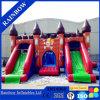 Combinato gonfiabile scorrevole del castello di Inflatables di vendita di Iaapa di tema caldo del pirata con la doppia trasparenza