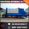 9개 입방 미터 폐기물 쓰레기 압축 분쇄기 트럭