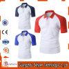 T-shirt van het Polo Mens van Jersey de Droge Slanke Gepaste