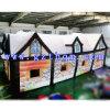 Frohe Weihnacht-aufblasbarer Sankt Grotte-Haus/aufblasbares Weihnachtsprahler-Haus