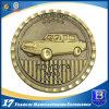 Выполненный на заказ монетки металла покрынные латунью коммеморативные