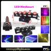 LEIDENE van de Disco van het stadium LEIDENE RGBW van de Verlichting 5X12W 4in1 Straal die HoofdLicht beweegt