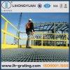 Reja de acero galvanizada de la química del petróleo para el suelo de la plataforma