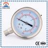 Chapa de aço inoxidável durável arquivado um manômetro de pressão de óleo