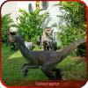Dinosaurios al aire libre de la exposición del Velociraptor realista