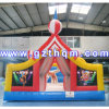Casa inflável do Bouncer do campo de jogos dos miúdos do PVC 0.55mm