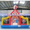 PVC 0.55mm子供の運動場の膨脹可能な警備員の家
