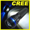Zoomable 3 de LEIDENE van de Wijze CREE Toorts van het Flitslicht 200 Lumen + het Holster van de Gift 1x