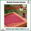/ L'Hibiscus Sabdariffa Roselle naturel extrait de la poudre avec Anthocyanidins pour perte de poids