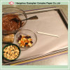 Tray LiningのためのDIY Use Non-Stick Silicone Treated Baking Parchment Paper