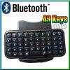 Mini Draadloos ultra Slank Toetsenbord Bluetooth voor iPadiPhone 4 OS PS3 PC