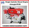 Dieselmotor van de Cilinder van Changfa de Enige R180