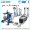 Ligne de production de machines de fabrication de briques entièrement automatique (type de fermeture)