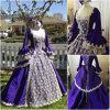 R-088 19 Century Lila Vintage Costume 마리아 Antoinette Gown 1860 년대 Victorian Lolita/Civil War Renaissance Dress Halloween Dresses All Size