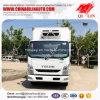 Muliti-temperatuur 3300mm de Wielbasis Gekoelde Vrachtwagen van de Bestelwagen