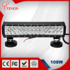 Double guide optique de la rangée LED, outre des guides optiques de la route LED, 17inch 108W pour la lumière de barre de 4X4 LED