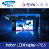 El panel de interior superior de la venta P2.5 LED