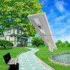 통합 태양 가로등 50W를 점화하는 옥외 태양 정원