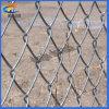 Покрынная PVC ячеистая сеть звена цепи спорта гальванизированная судом стальная