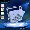 IGUALDAD plana con pilas sin hilos delgada de la IGUALDAD 9PCS 10W RGBW 4in1 LED de DJ