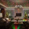 Luz al aire libre de la etapa del laser de la ducha del laser de la estrella de la luz del árbol del jardín de la Navidad