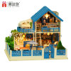 China juguete de madera del rompecabezas 3D DIY muñeca Hosue para Kid Educación
