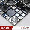 美しいガラスモザイク・タイル、台所デザインのための水晶モザイクデザイン