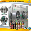 Máquina de engarrafamento da cerveja dos frascos de vidro
