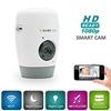 Câmera do IP da rede do monitor sem fio do bebê e da segurança Home com luz da noite, definição elevada HD 1080P, trabalho sobre WiFi ou cabo, micro interno